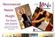 "Nia® ~ ""Joy of Movement"" with Junaline"