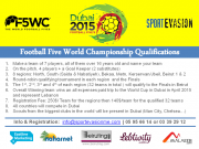 Football 5 World Championship (Lebanon Qualifications)
