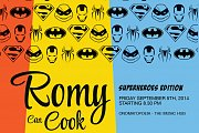Romy can Cook - superheroes edition