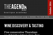 Wine Discovery and Tasting by Rhea Semaan