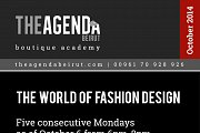 The world of fashion design by Ghada Kazan