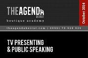 TV presenting and Public Speaking