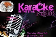 Karaoke Party Night, Be the star