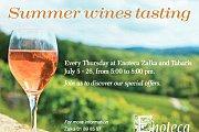 Summer Wines Tasting