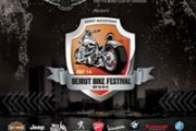 Jeep and Harley-Davidson at the Beirut Bike Festival 2014