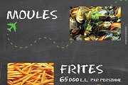 Moules et Frites At Rikky'z