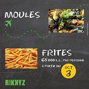 Moules et Frites At Rikky'z