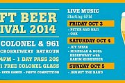 Craft Beer Festival 2014 at Colonel Brewery