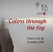 """""""Colors through the Fog"""" Collective Exhibition by Exode"""