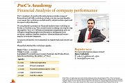 PwC's Academy, Financial Statement Analysis of company performance workshop