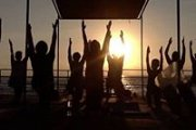 Beach Sunset Yoga Class