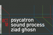Psycatron, Sound Process, Ziad Ghosn live at  B018