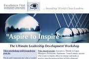 """""""Aspire to Inspire"""" Leadership Development Workshop by Excellence First MENA"""