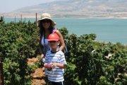 Cueillette de Framboise en face du Lac de Qara'oun - Journée avec NEO KIDS