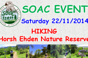Hiking at Ehden Reserve with SOAC