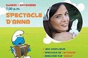 Spectacle d'ANNA at Kermesse Des Schtroumpfs