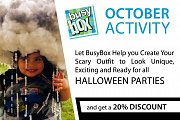 Halloween Party at Busy Box