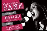Concert Mademoiselle SANE