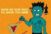 Show me ur TRICK, I'll show u mine :) HALLOWEEN AT RIKKY'Z