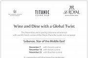 Wine & Dine with a Global Twist