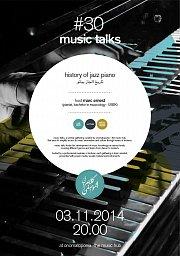 music talks 30 - history of jazz piano