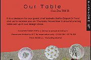 OUR TABLE - Come Dine With Us