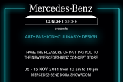 New Mercedes-Benz Concept Store Opening Night