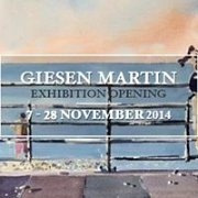 Watercolors about Lebanon - Martin Giesen painting exhibition