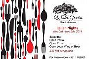 Italian Nights at Winter Garden Bar