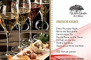French Nights every Thursday at the Winter Garden in Coral Beach