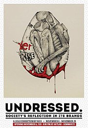 UNDRESSED - Society's reflection in its brands - A solo exhibition by Boo
