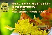 Book Gathering - November