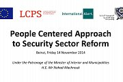 People Centered Approach to Security Sector Reform - Conference