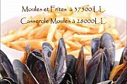 Arrivage Moules au Cafe Tournesol