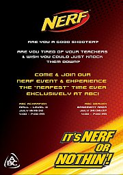 NERF Event & Experience