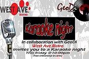 Karaoke Night at West Ave Bistro