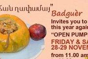 """PUMPKIN DAY - Open """"Ghapama"""" Buffet"""