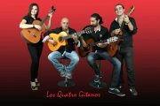 Los Quatro Gitanos live at Cheers Club