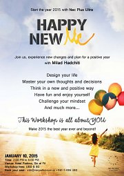 HAPPY NEW ME WORKSHOP