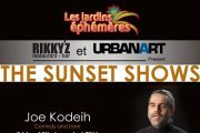 THE SUNSET SHOWS, during Les Jardins ephemeres