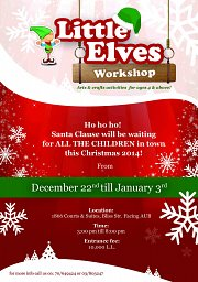 The Little Elves Workshop by Kids Event