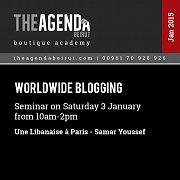 Worldwide Blogging with Samar Youssef Une Libanaise a Paris