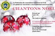 CHANTONS NOEL - Concert de la Federation des Anciens de l'USJ
