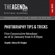 Photography Tips & Tricks a workshop by Sayde Jabra El-Hajjar