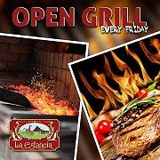 Live Open Grill at La Estancia every Friday