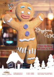 """""""Gingerbread Artist"""" Christmas Exhibition by Exode"""
