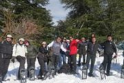 Snowshoeing Arz Hadath With Dale Corazon
