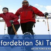 Snowshoeing / cross country skiing activity