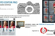 PHOTO EDITOR PRO photography workshop