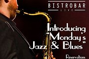 "BistroBar Live Presents ""Monday's Jazz & Blues"" with ""Ingrid Naccour"" and ""Pacific Line"""